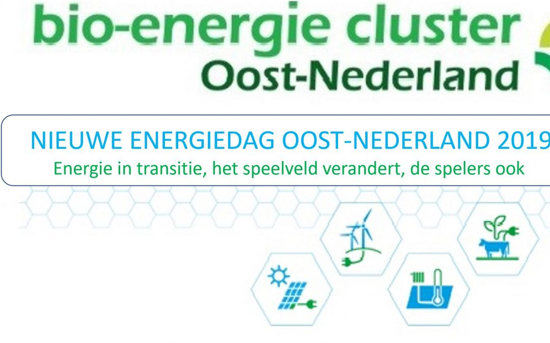 Nieuwe Energiedag Oost-Nederland 2019