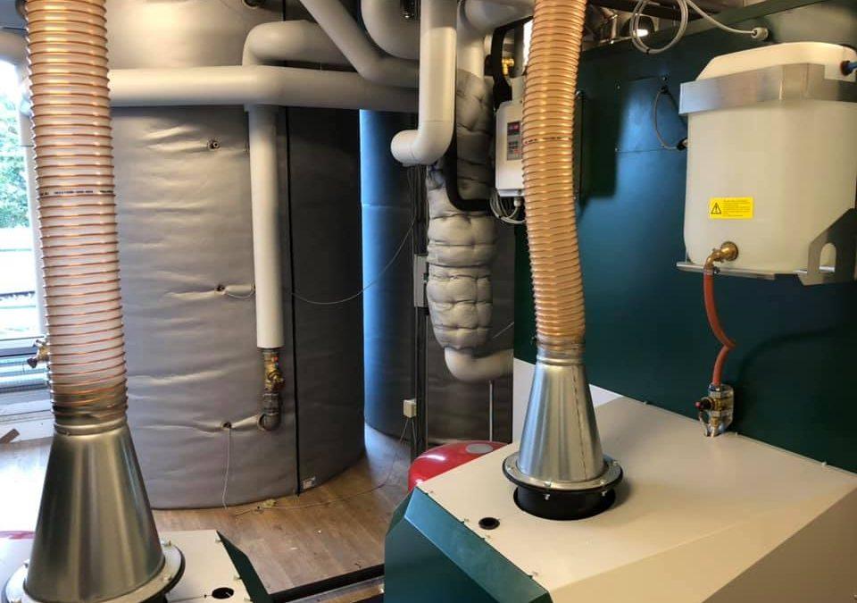 Wierden wekt duurzame energie op met biomassa en zon
