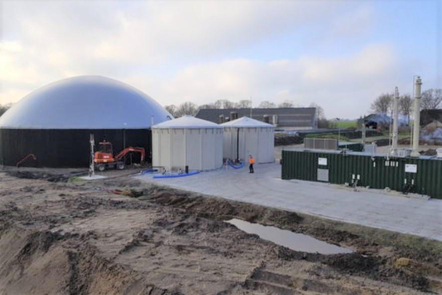 Maatschap Biogas I produceert groen gas voor het lokale gasnetwerk